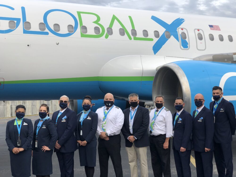 GlobalX crew