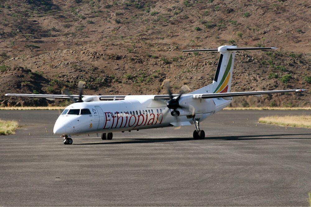 Ethiopian Airlines Dash 8