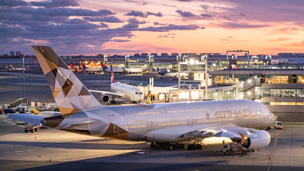 Etihad Airbus A380 future