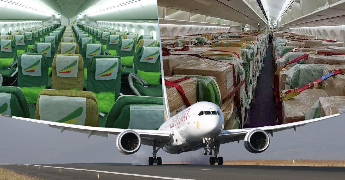 Ethiopian Airlines Preighter