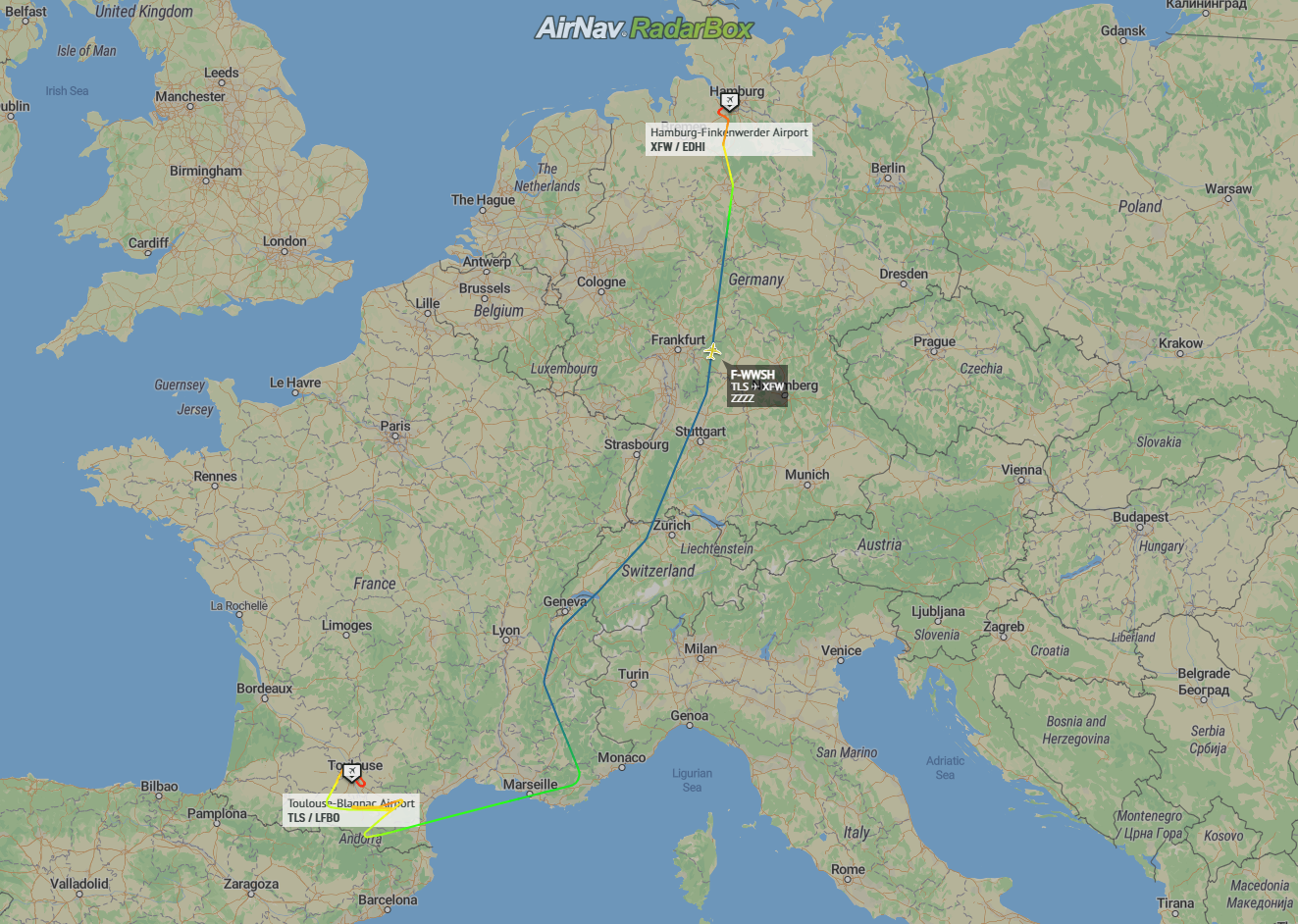 Airbus A380, Final Plane, First Flight