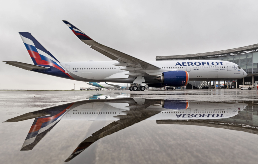 Aeroflot Celebrates One Year Of Airbus A350 Operations