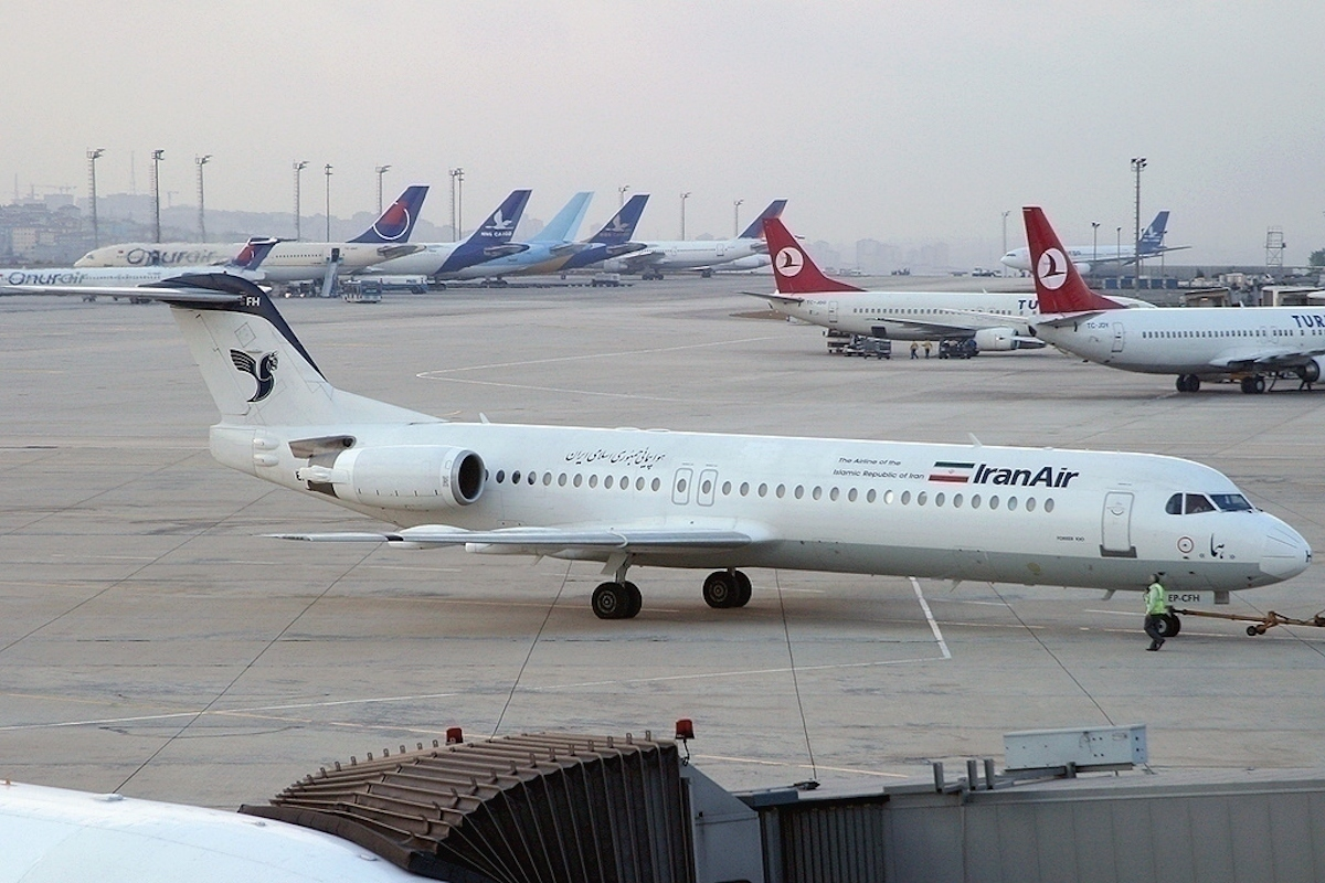 Iran Air Fokker 100 Diverts Over Attempted Hijacking