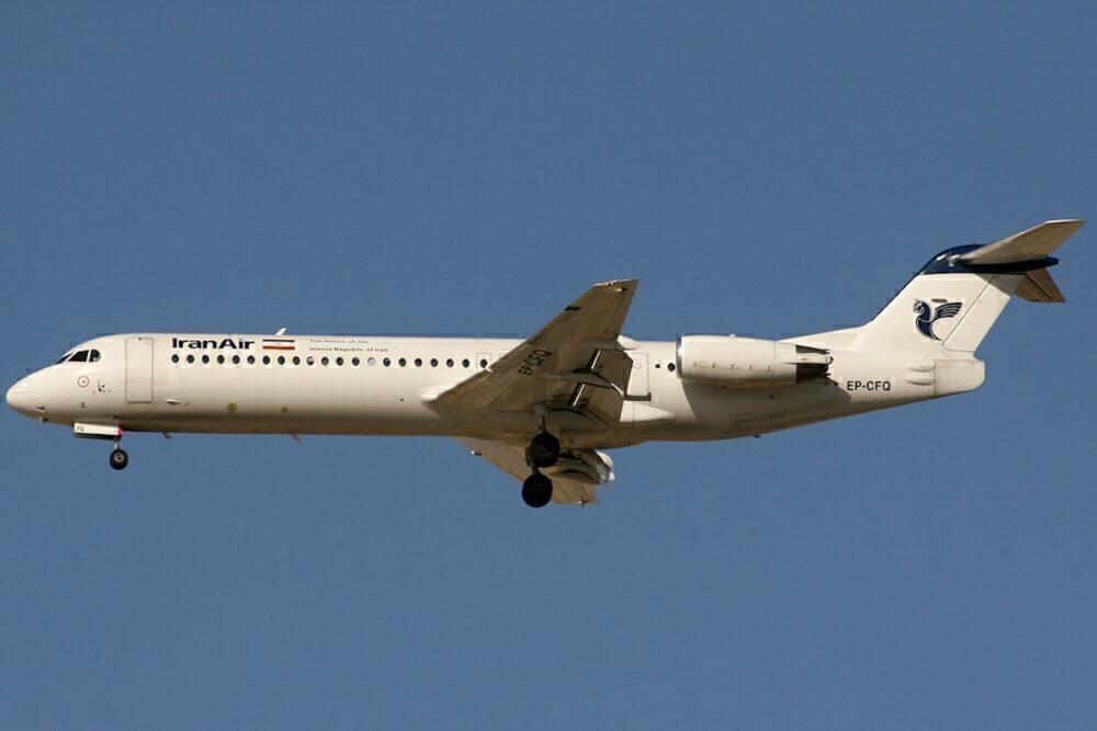 Iran Air Fokker_100