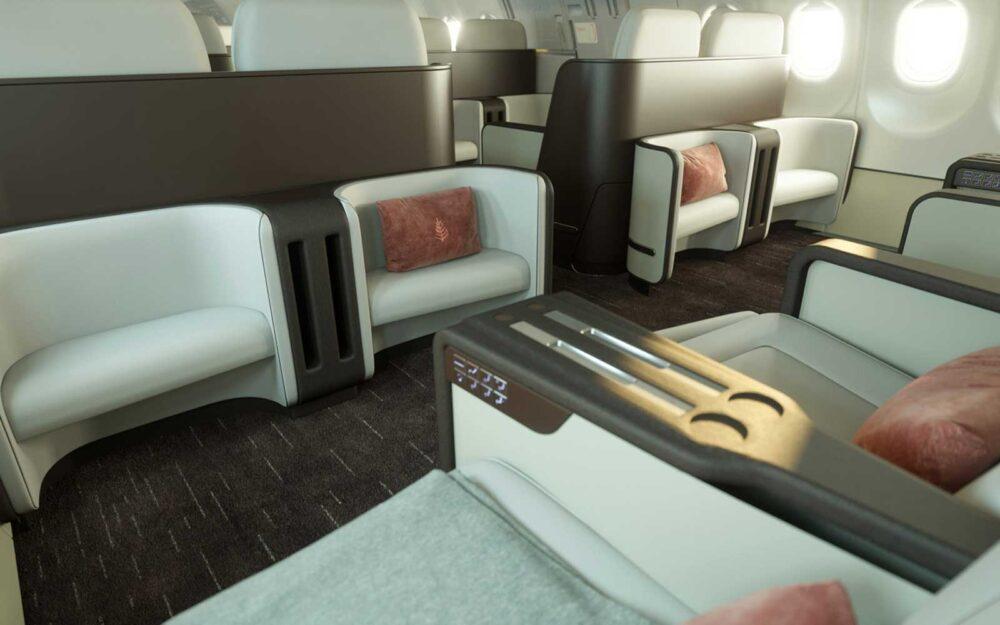 Four seasons A321LR private Jet