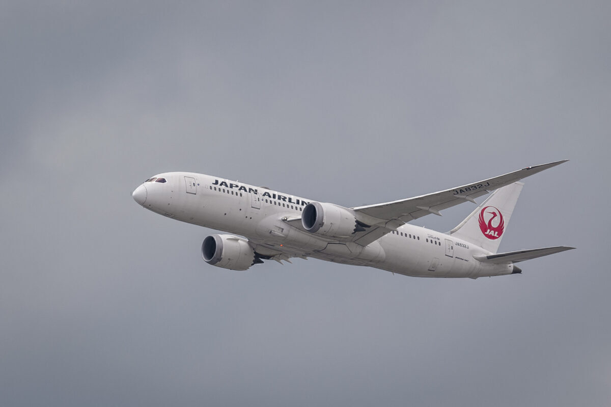 JAL Japan Airlines 787-8 Getty