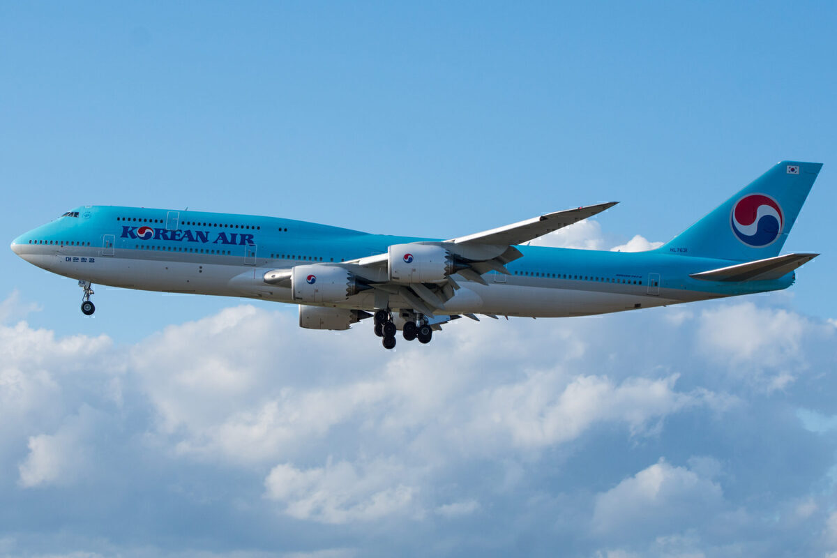 Korean Air 747-8 To Become Korea's 'Air Force One' In Germany