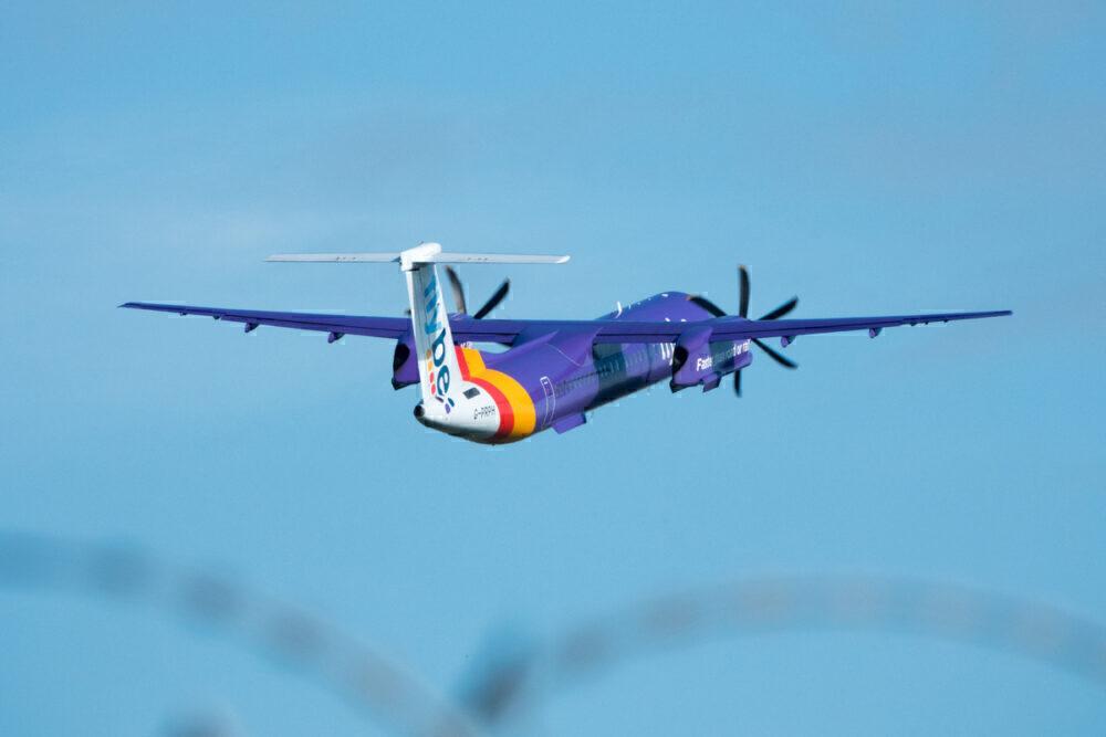 flybe Dash 8 400