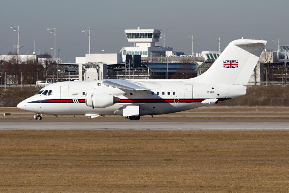 UK RAF BAe 146