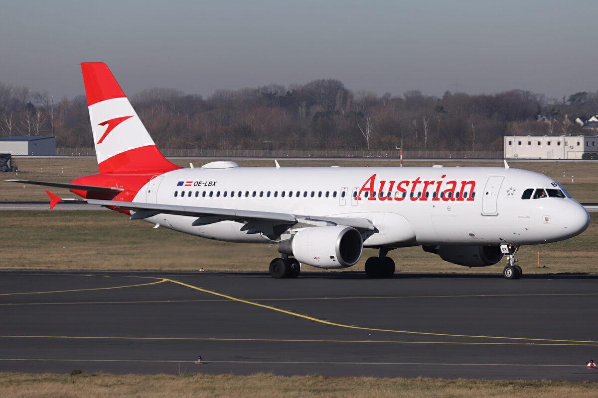 Austrian Airbus A320