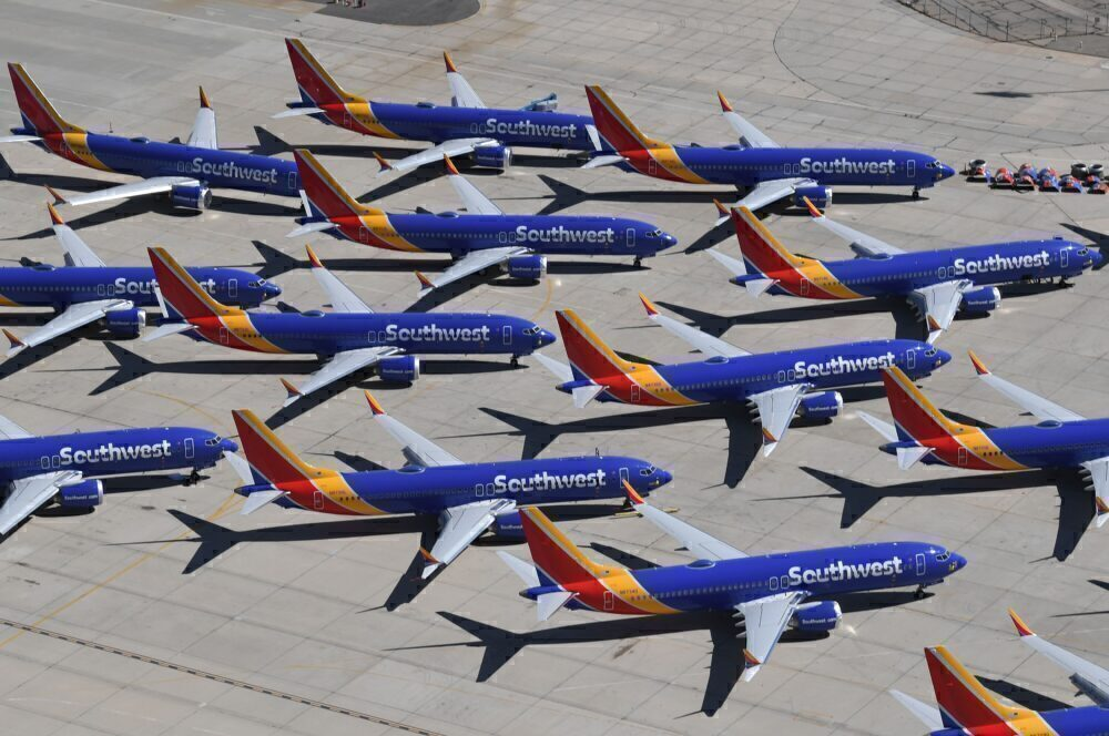 Southwest Boeing 737 MAX Jets