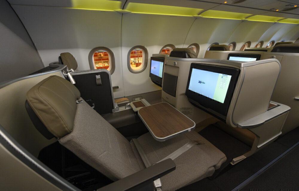 TAP A321LR business class
