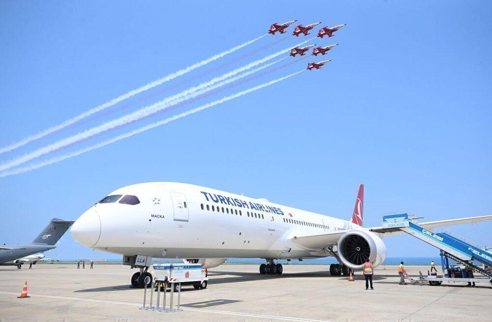 Turkish Airlines Boeing 787 Getty