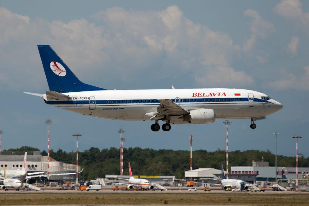 Belavia Belarusian Airlines Boeing 737-300