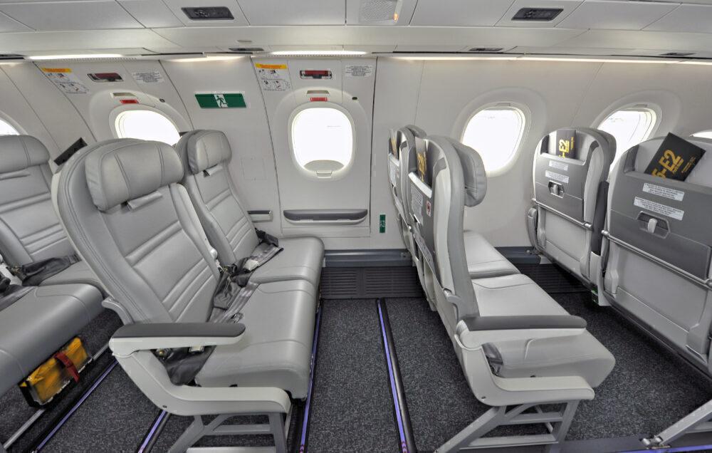 Embraer E2 exit row