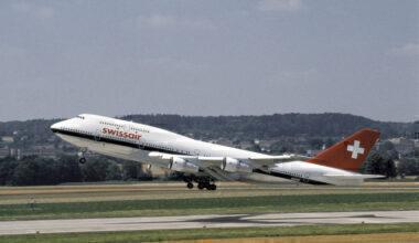 Swissair 747