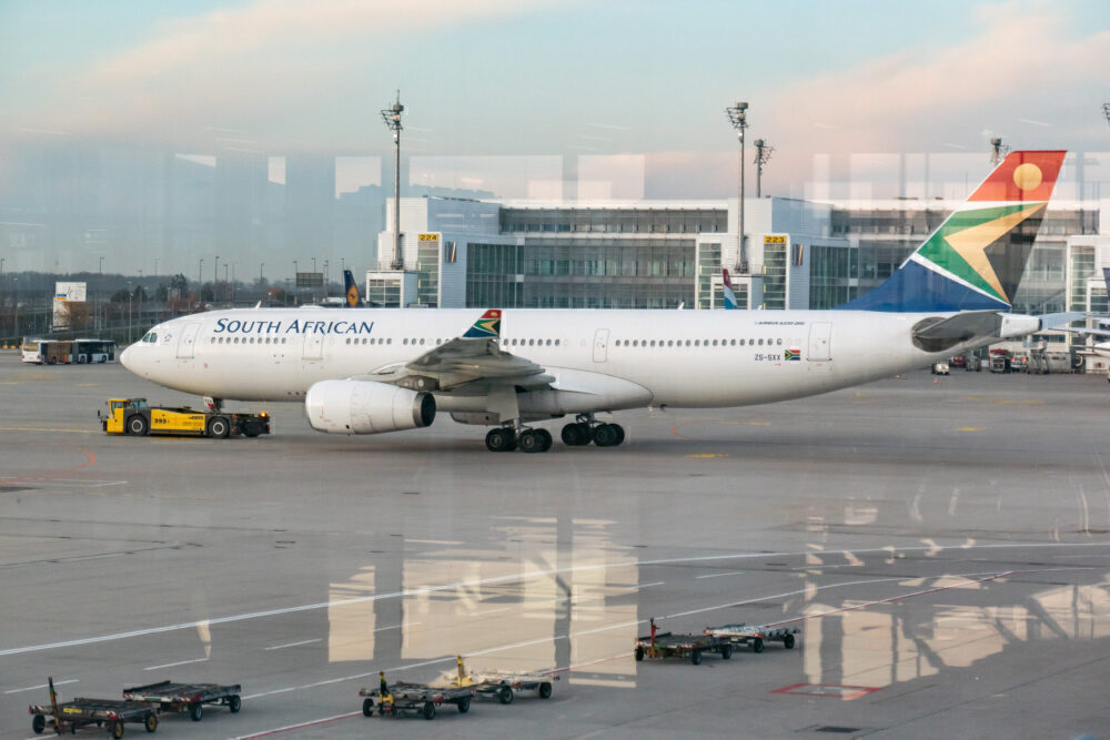 South African Airways Airbus A330