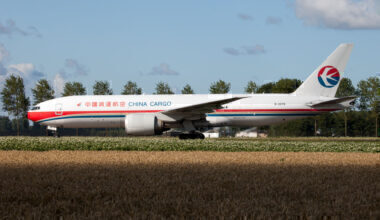 China Cargo Airlines Boeing 777F Amsterdam Getty