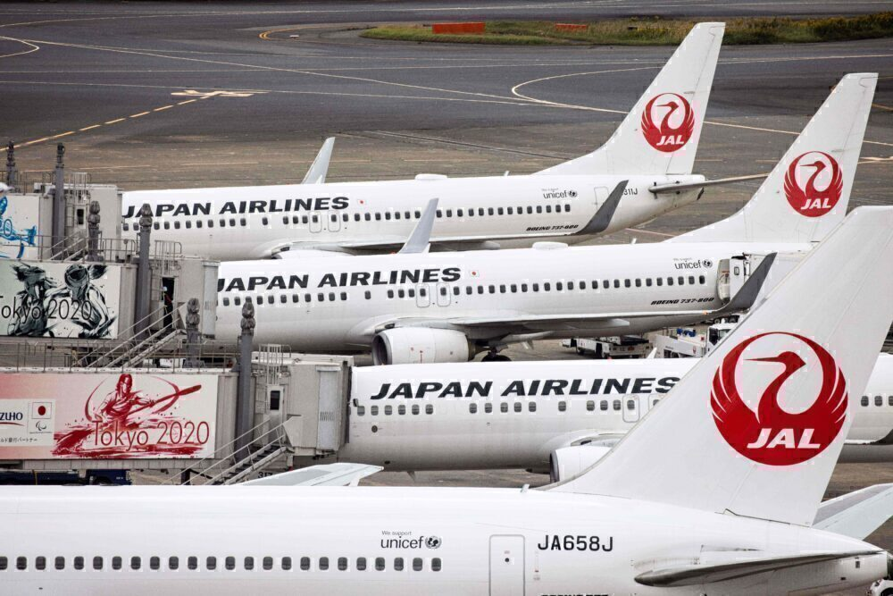 JAL Japan Airlines aircraft