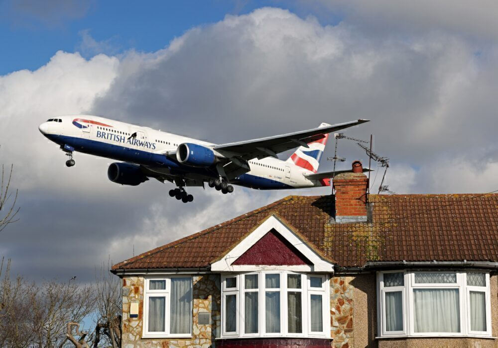 British Airways 777 Heathrow