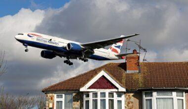 British Airways 777 Heathrow