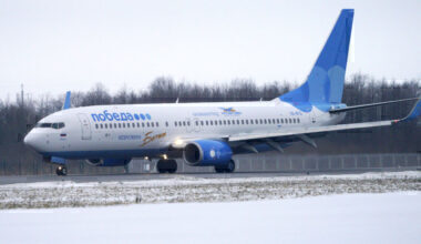 Pobeda Boeing 737 Getty