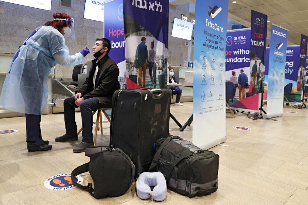 Ben Gurion Airport Tel Avivi COVID Test