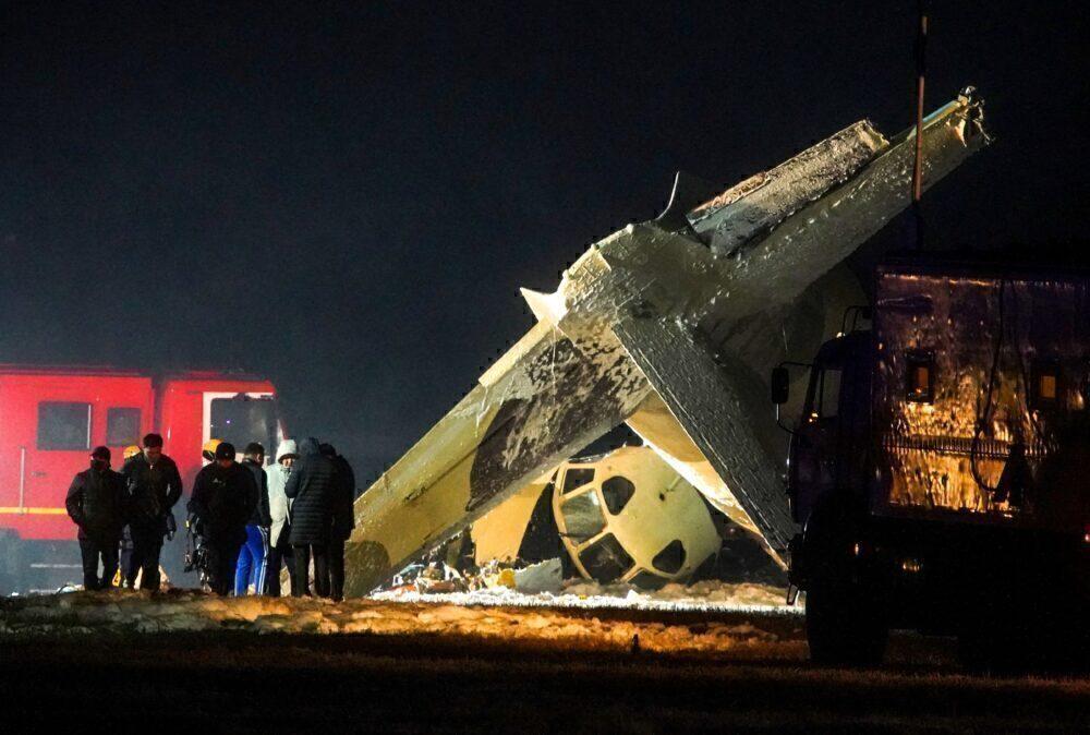 Antonov An-26 Turboprop Crashes In Kazakhstan
