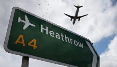 Heathrow Airport Plane