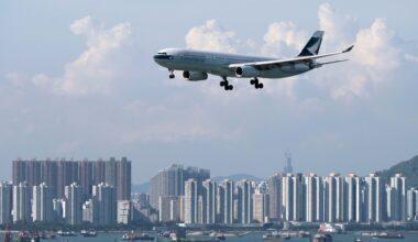Cathay Pacific at HKIA