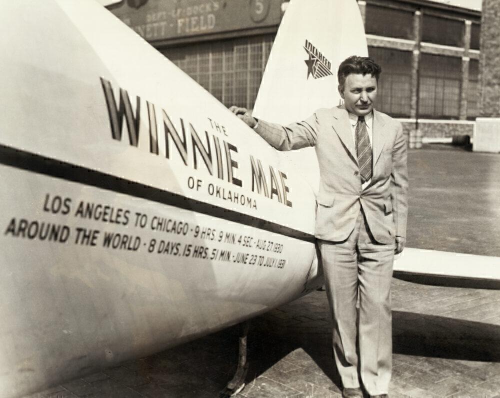 Wiley Post Before Record Air Flight