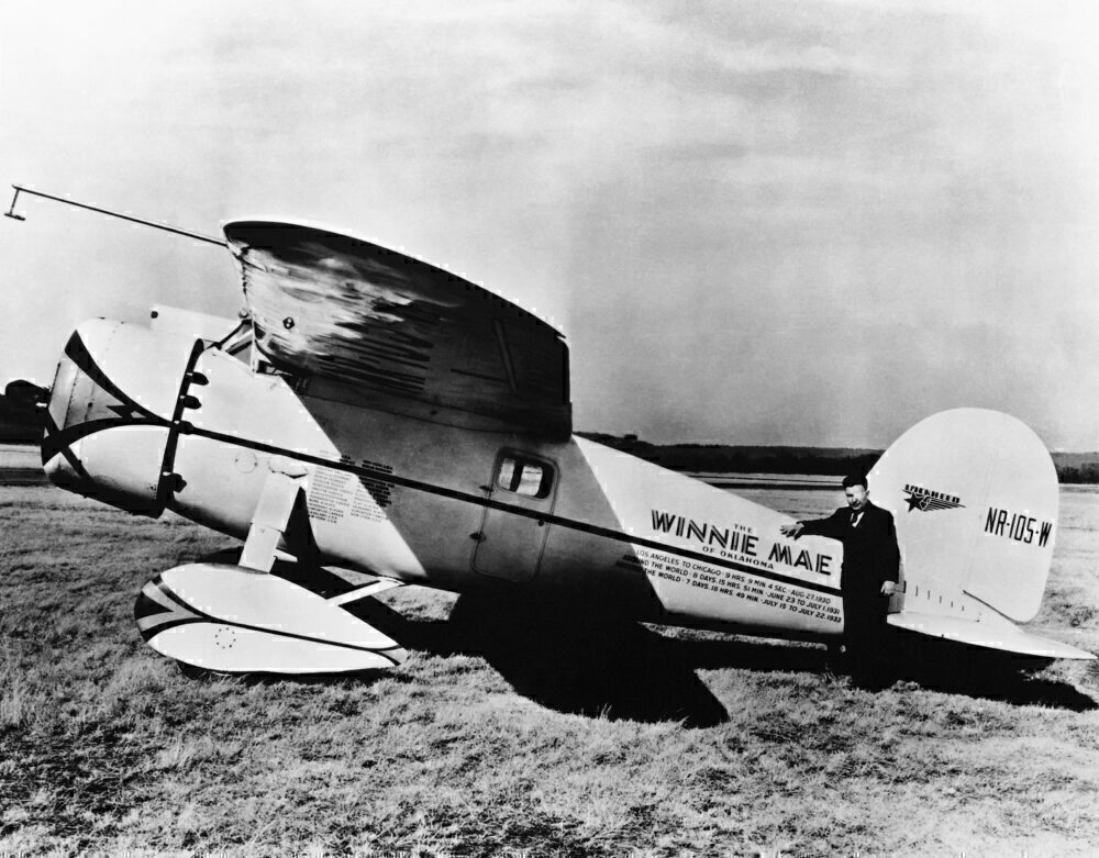 First Around The World Pilot Wiley Post