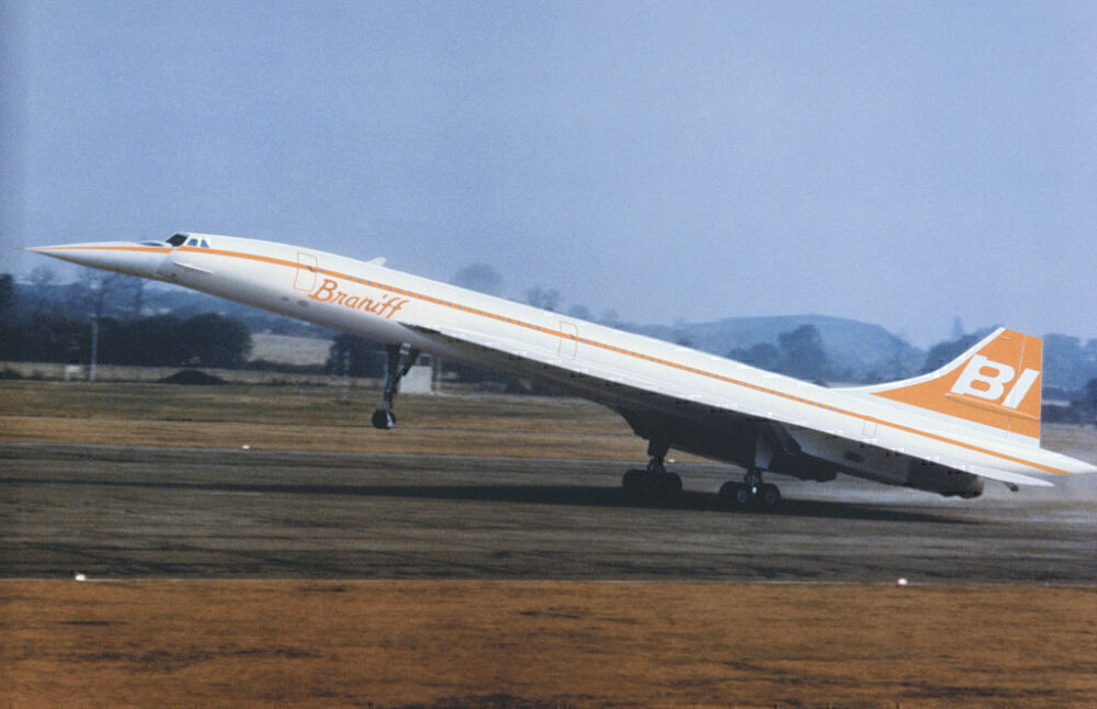Braniff Concorde Getty