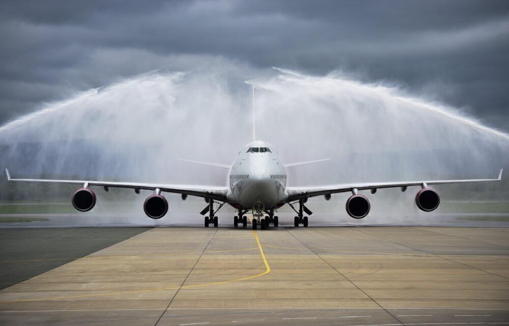 Rossiya Airlines' Boeing 747-400 EI-XLJ lands in Vladivostok
