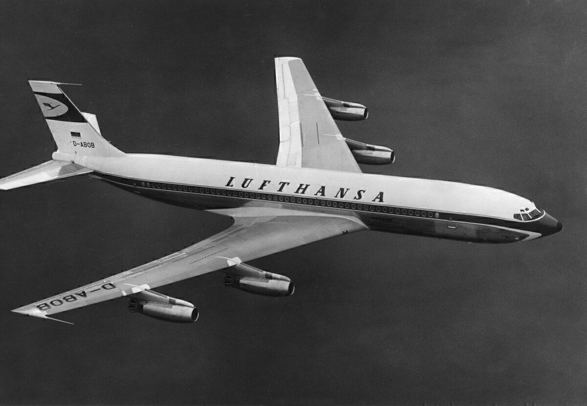 Lufthansa, Boeing 707, Scrapped