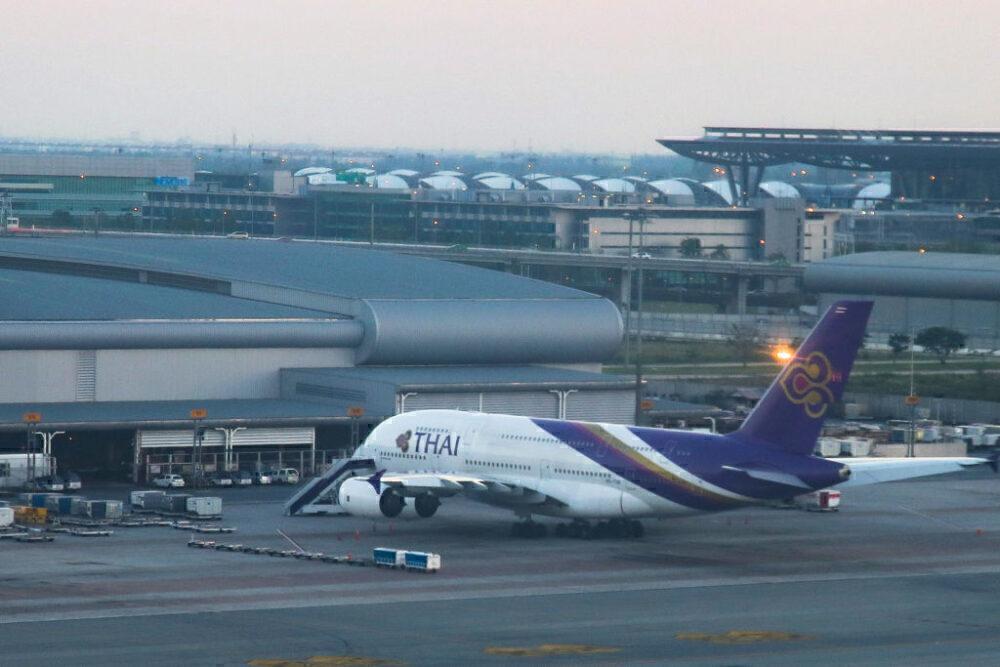 THAI Airways Airbus A380 Getty