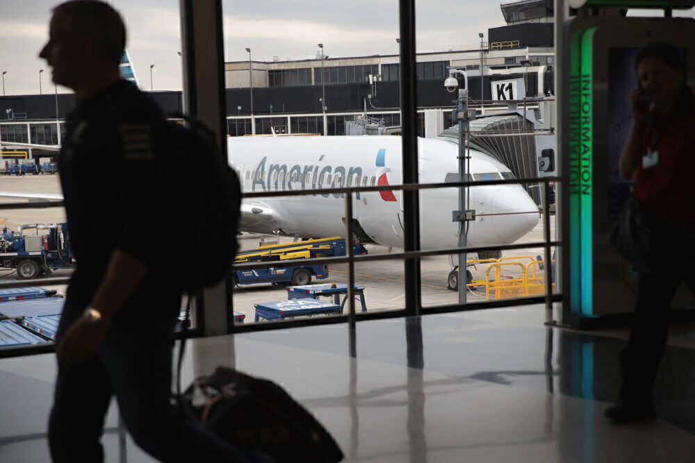 American Airlines at O'Hare