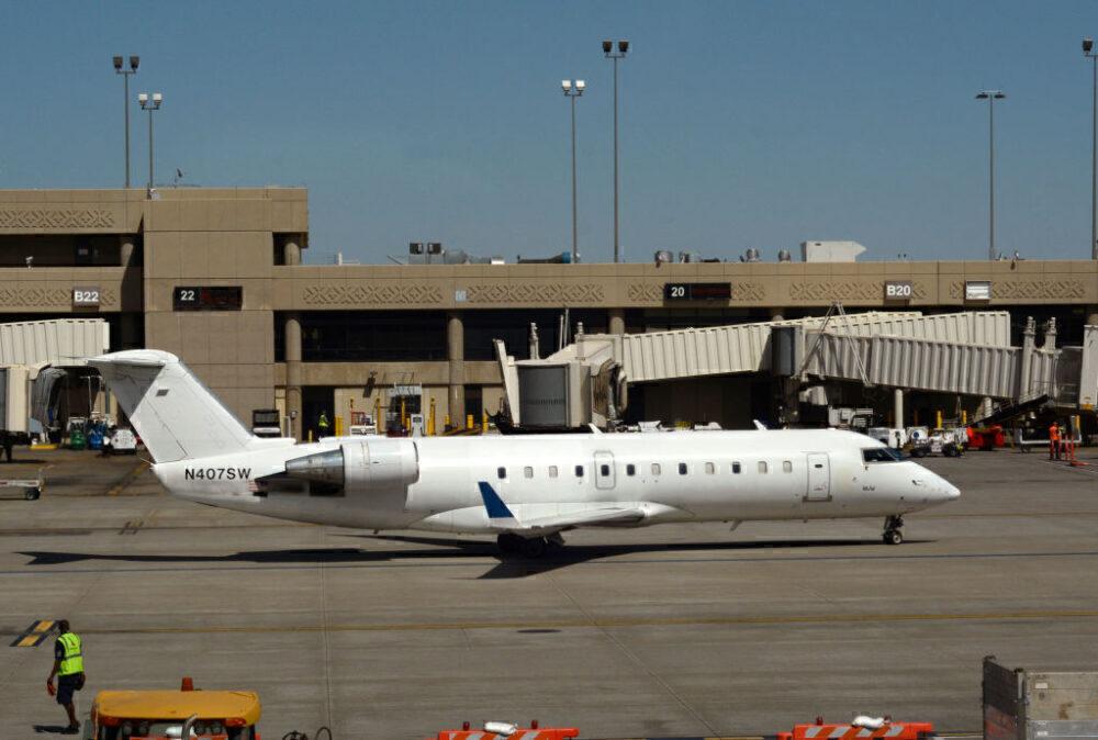 Mesa Airlines CRJ100 Phoenix Getty