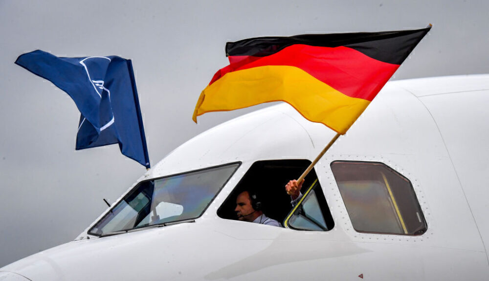 Lufthansa German Flag Airbus A321 Getty