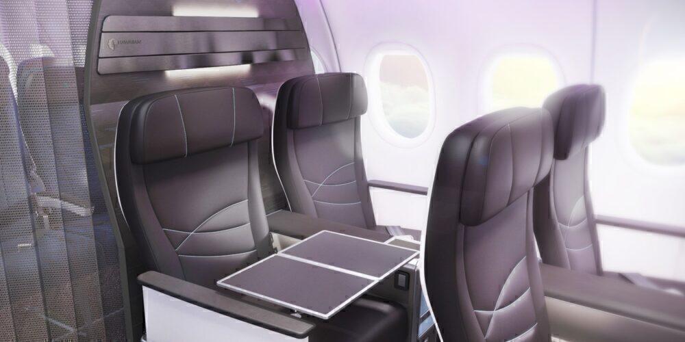 Hawaiian A321neo Interior