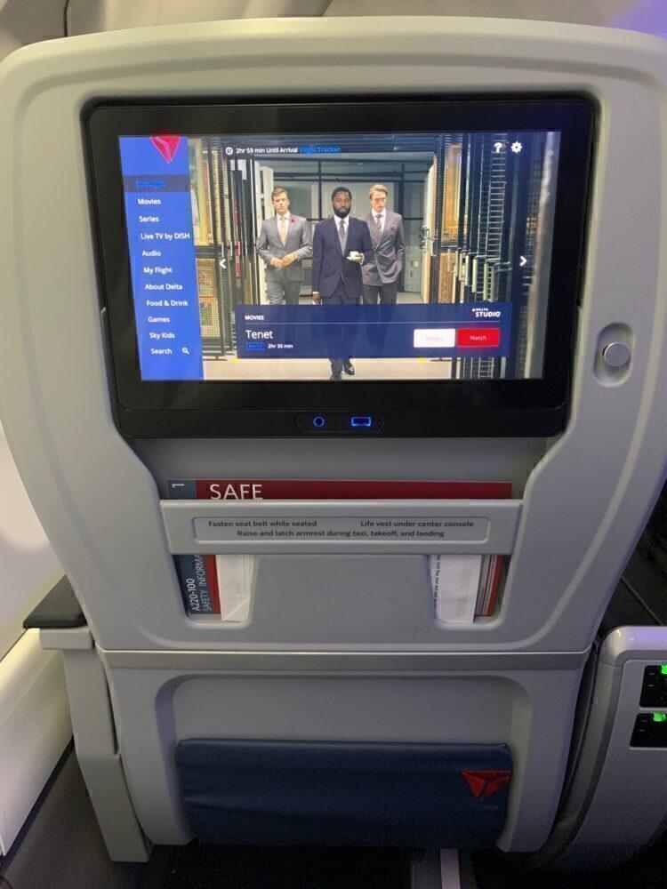Delta screen