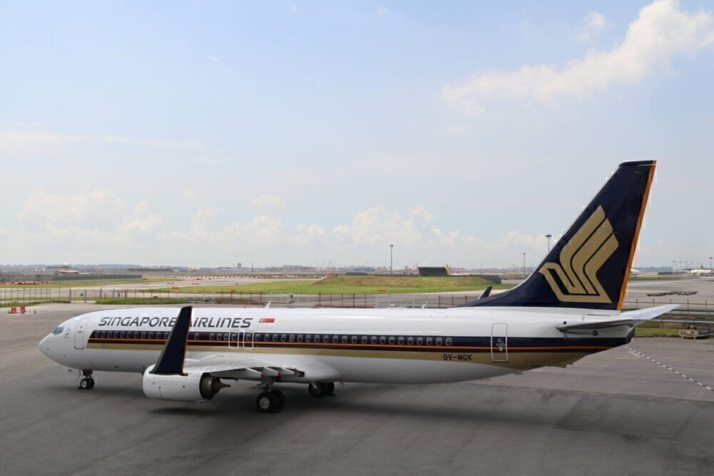 After 30 Years Singapore Airlines Flies The Boeing 737 Again