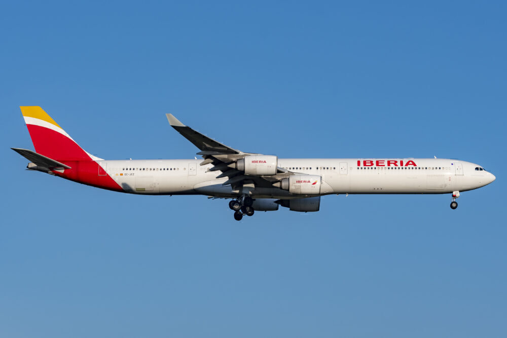Iberia Airbus A340-600 EC-JCZ