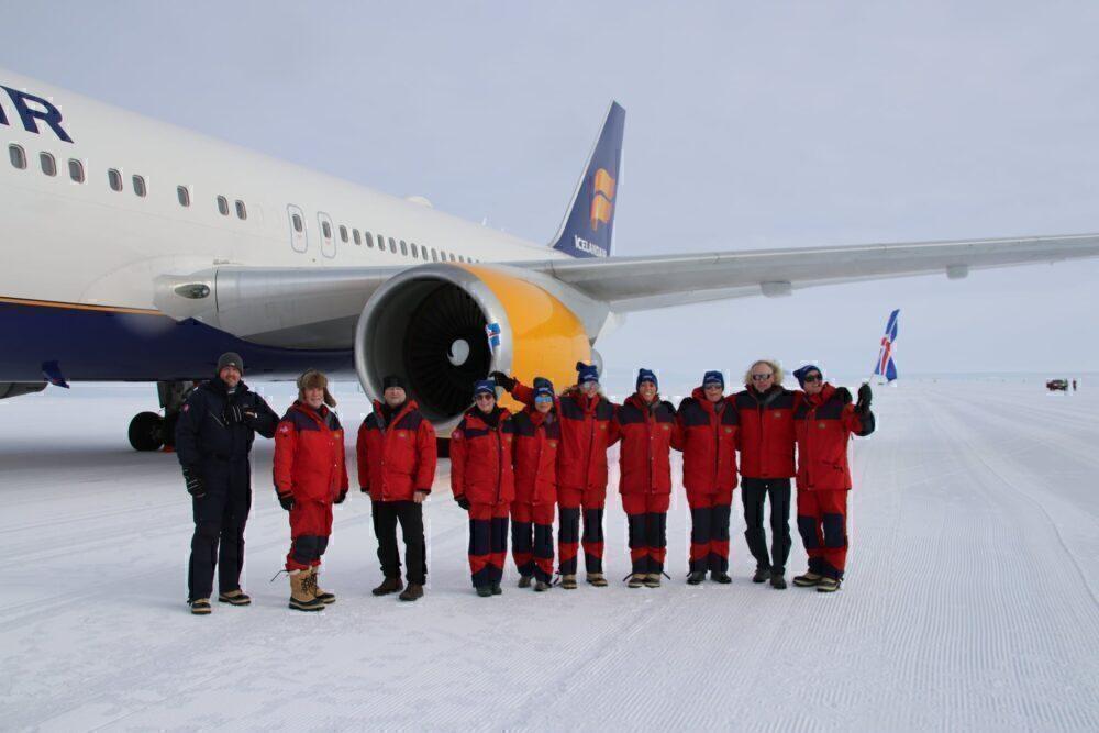 Icelandair Antarctica Crew