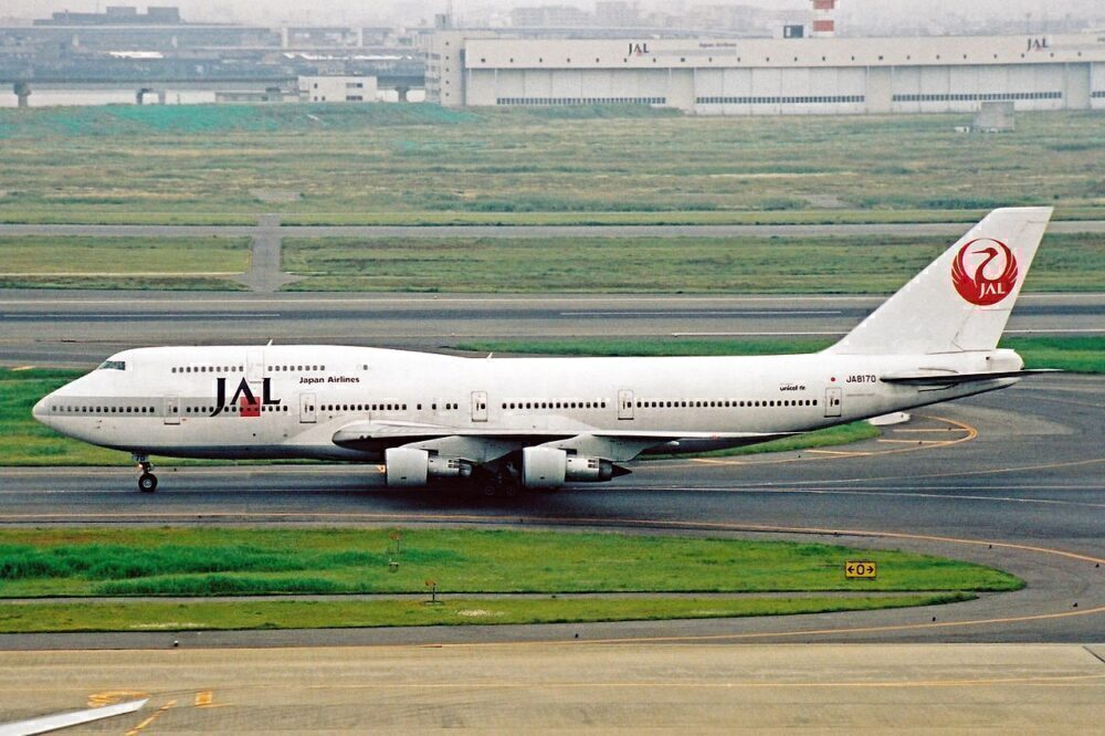 Japan Airlines Boeing 747-100BSR SUD