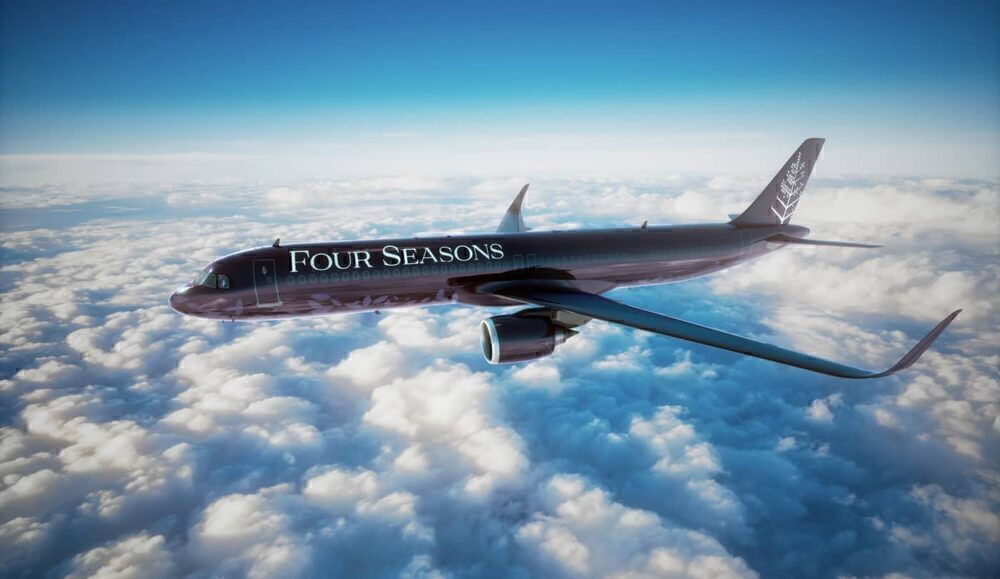 Four seasons A321LR private Jet