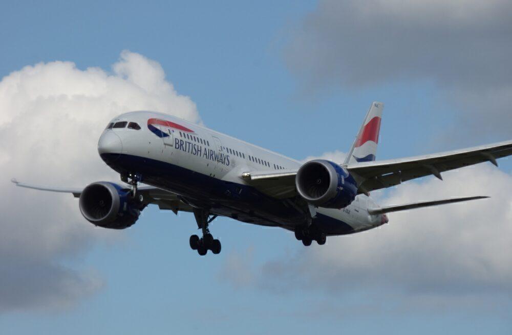 British Airways Boeing 787 Londres Heathrow