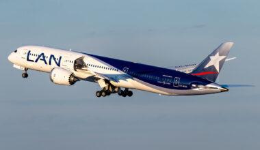 LATAM Airlines Boeing 787-9 Dreamliner CC-BGH(1)