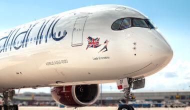 Virgin new plane names