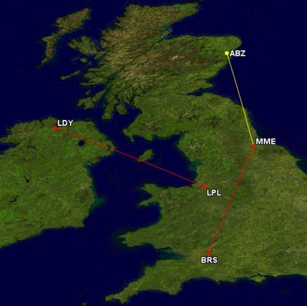 Loganair new routes